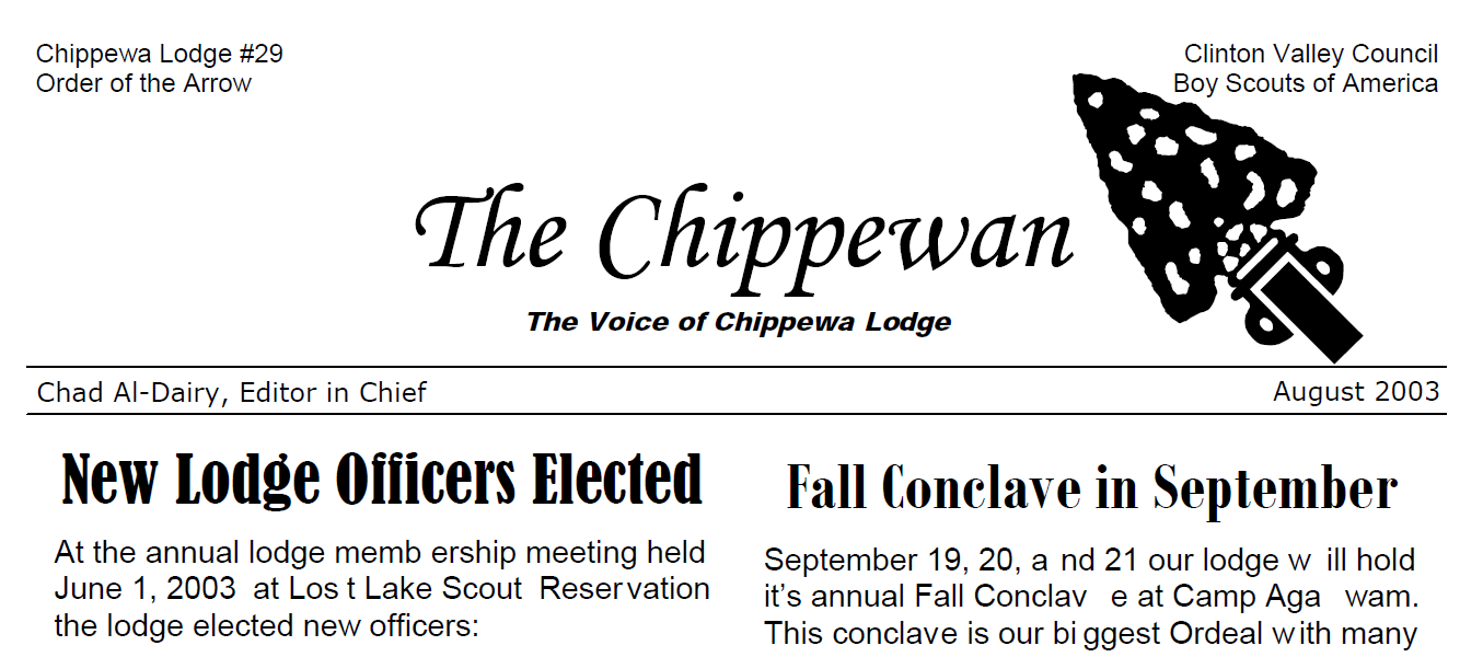 The Chippewan